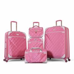 طقم حقائب سفر ماركة فكتوريا-وردي