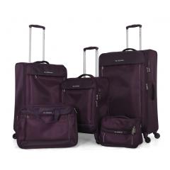 طقم حقائب سفر تروللي اربعة قطع ماركة سونادا