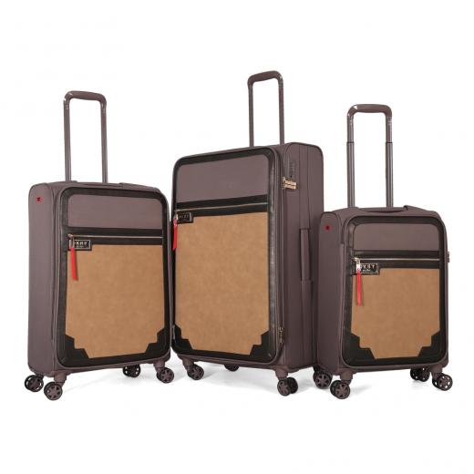 طقم حقائب سفر تروللي ثلاث قطع ماركة دكني