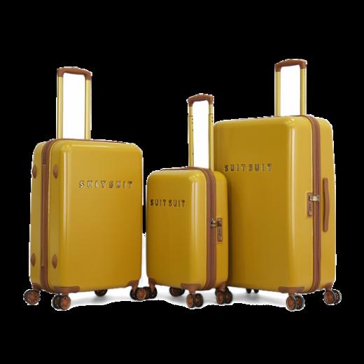 طقم حقائب سفر  ماركة سوت سوت -اصفر