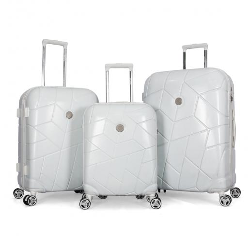 طقم حقائب سفر ثلاث قطع  ماركة ترافل للايت-