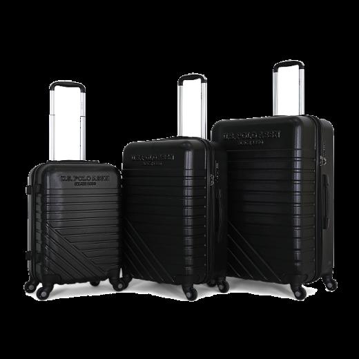 طقم حقائب سفر ماركة يو اس بولو-اسود