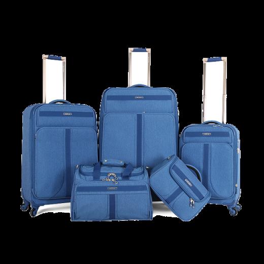 طقم حقائب سفر ماركة فكتوريا-ازرق