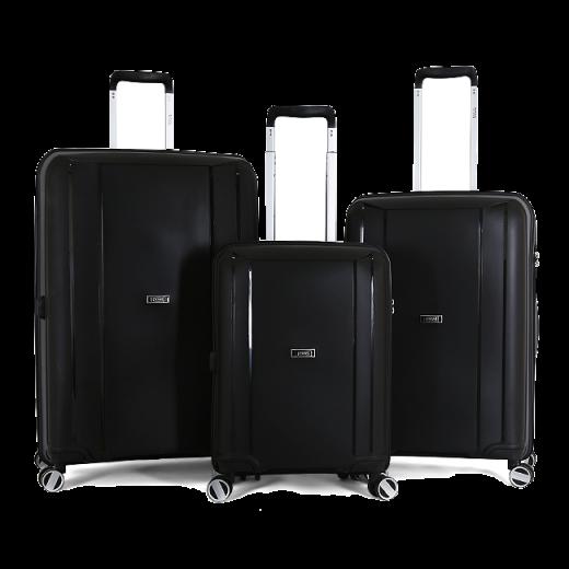 طقم حقائب سفر ثلاث قطع  ماركة تيتان-