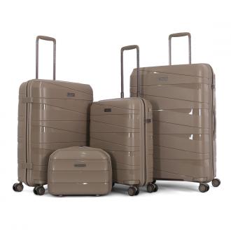 طقم حقائب سفر تروللي اربعة قطع ماركة فيكتوريا
