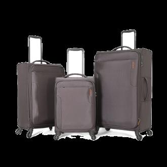 طقم حقائب سفر ماركة فكتوريا-رصاصي